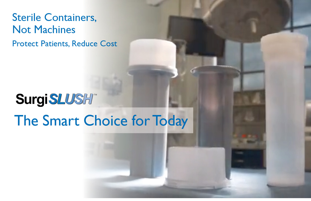 Sterile containers, not machines. Protect Patients. Reduce cost.